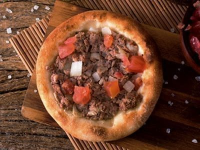 Esfiha de Carne - Najah Rão, Delivery de Comida Árabe